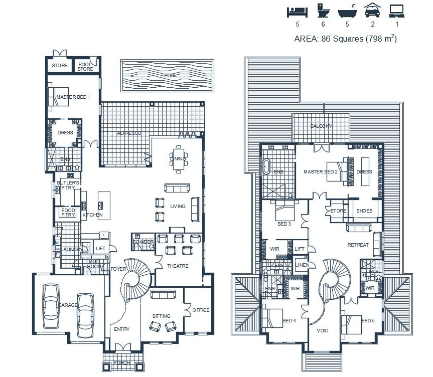 Floor Plan - 19 Rose Ave