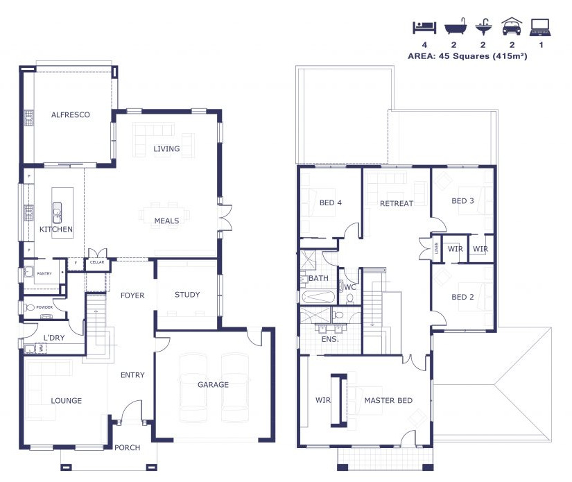 Floorplan - Waverley Rd - Mt Waverley